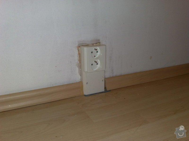 Výměna starých zásuvek a vypínačů s montáží světel: 16072011673