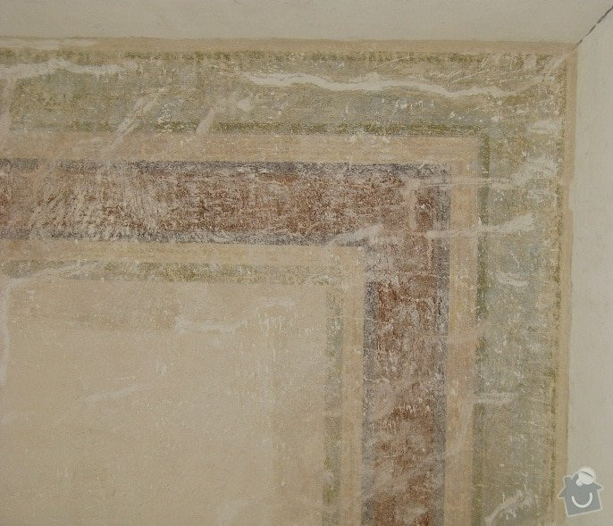 Malířské práce (1 pokoj): Strop1