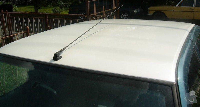 Lakování střechy automobilu: P1000412