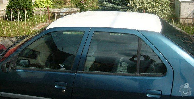 Lakování střechy automobilu: P1000414