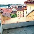 Klempirske prace oplechovani casti terasy cca 4m2 koty