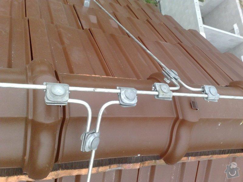 Montáž hromosvodu na RD: 20072011704