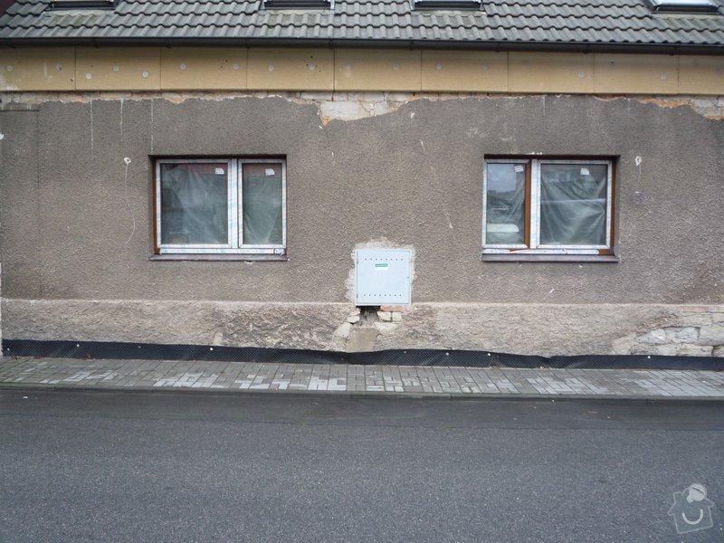 Zateplení fasády vč. omítky - řadový rodinný dům: Pohled_z_ulice