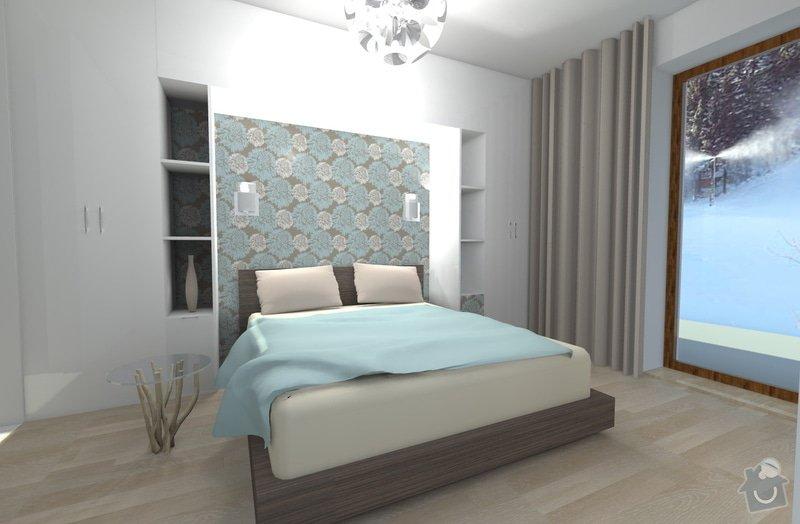 Návrh interiéru: Resko_loznice13