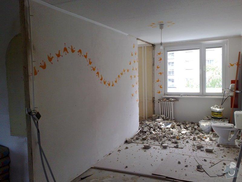 Přestavba bytu: 31052011952