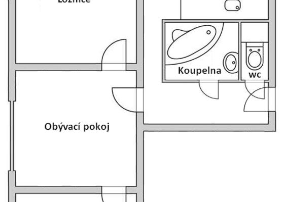 Rekonstrukce bytového jádra, koupelny