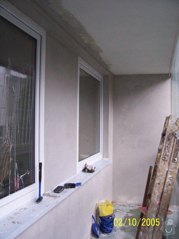 Nátěr balkónu a povrchová úprava štuku: Stuk_balkon