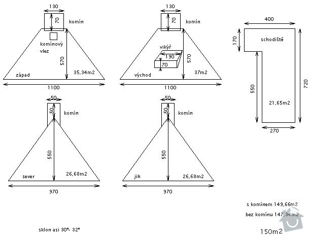 Rekostrukce plechové střechy + okapy: strecha