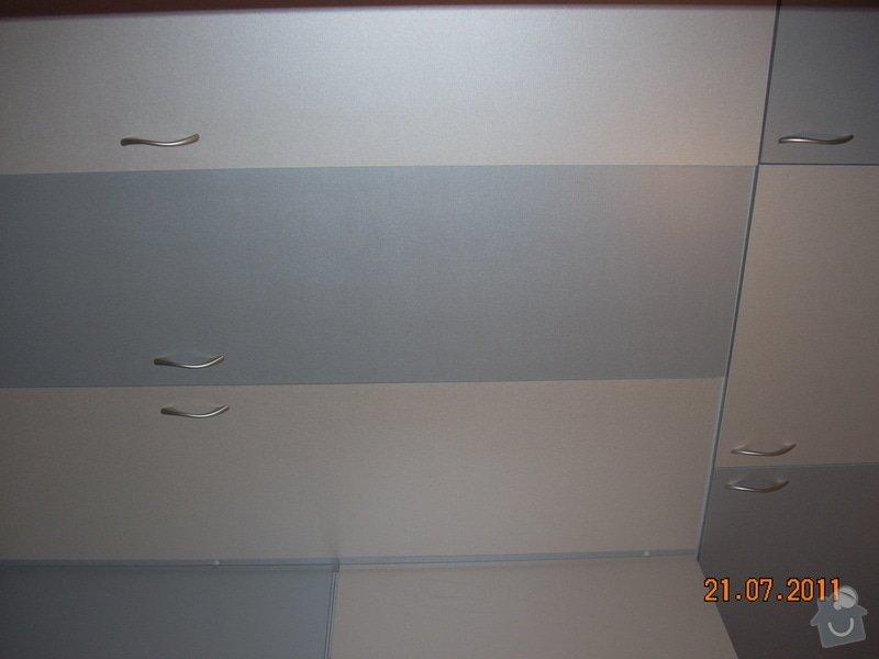 Šatna lamino - výroba a montáž: DSCN7517