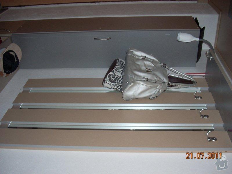 Šatna lamino - výroba a montáž: DSCN7518
