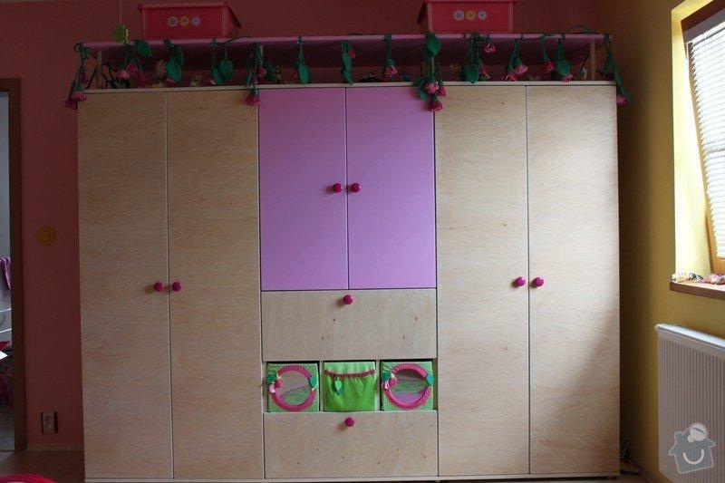 Dětský pokoj: Skrin