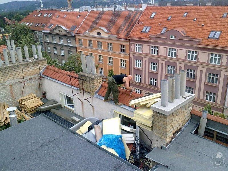 Instalace  hromosvodu ing.Štulc Terronská ulice Praha.: 20072011183