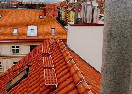 Instalace  hromosvodu ing.Štulc Terronská ulice Praha.