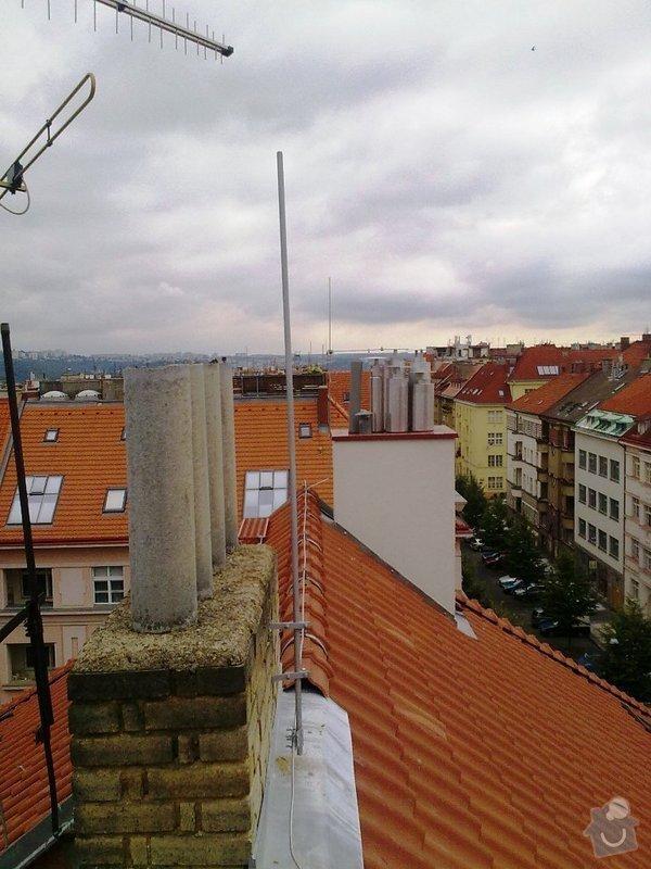 Instalace  hromosvodu ing.Štulc Terronská ulice Praha.: 20072011188