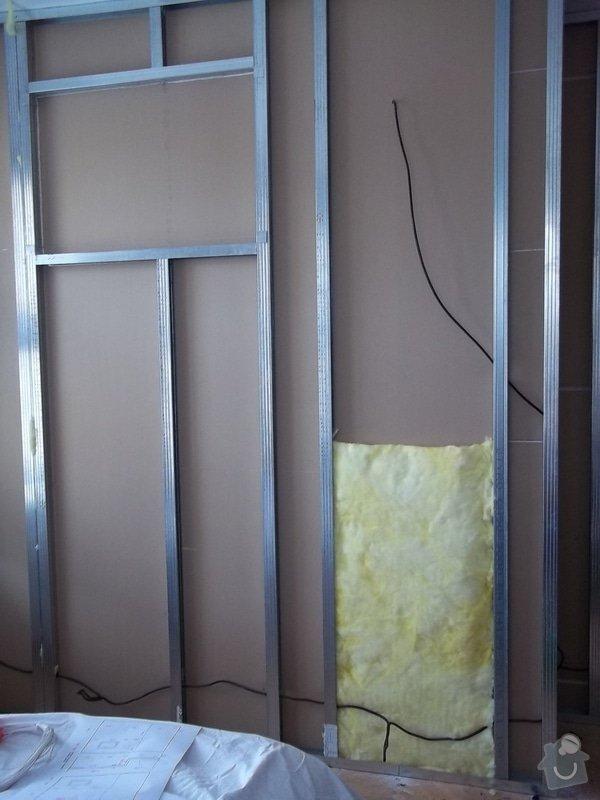 Příčka s oknem: 104_0440