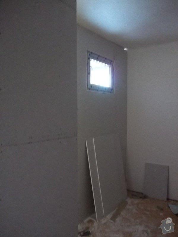 Příčka s oknem: 104_0442