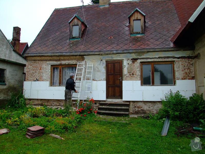 Zateplení fasády a prodloužení střechy: DSCF4784