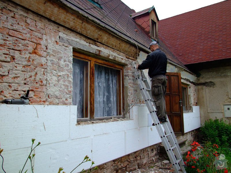 Zateplení fasády a prodloužení střechy: DSCF4785