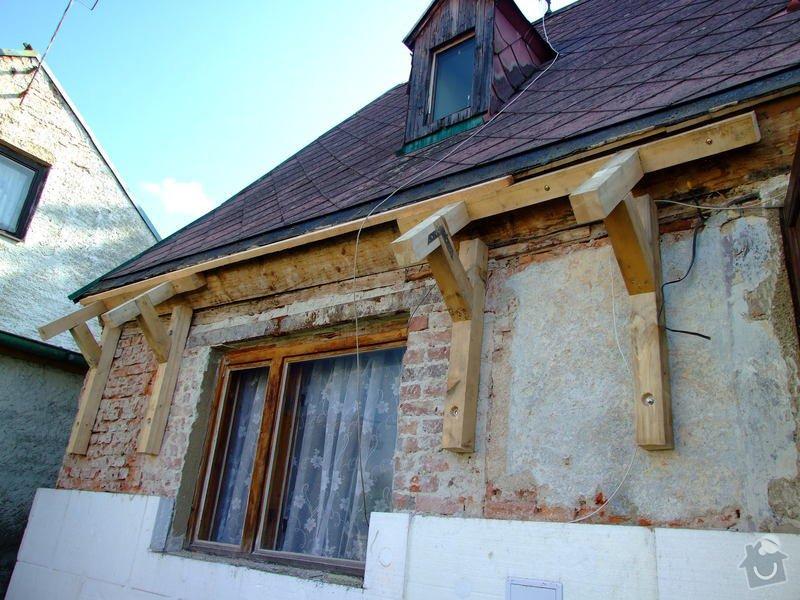Zateplení fasády a prodloužení střechy: DSCF4788