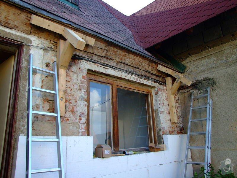 Zateplení fasády a prodloužení střechy: DSCF4789