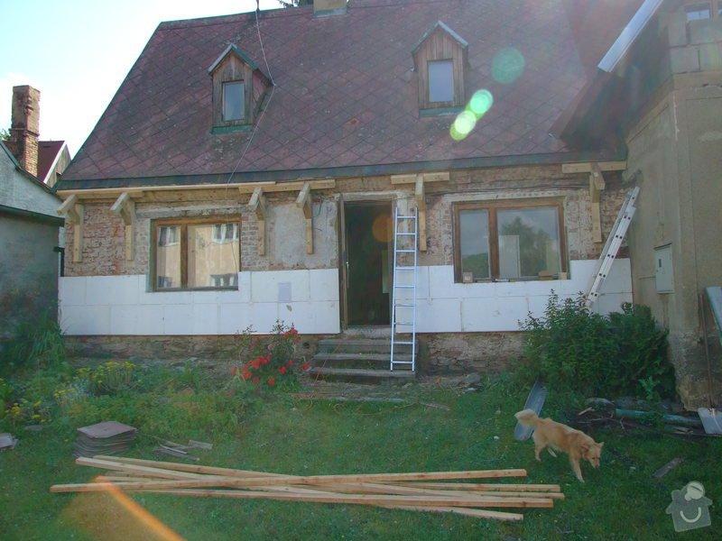 Zateplení fasády a prodloužení střechy: DSCF4790