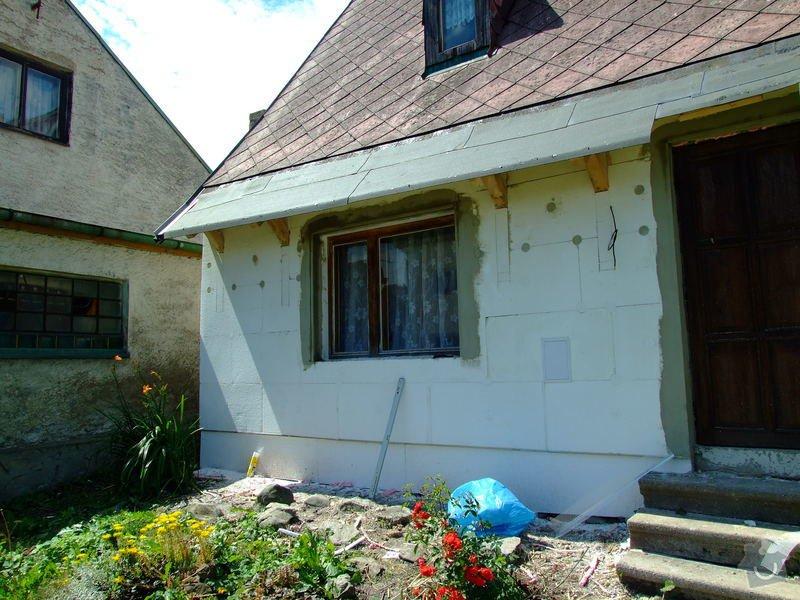 Zateplení fasády a prodloužení střechy: DSCF4792