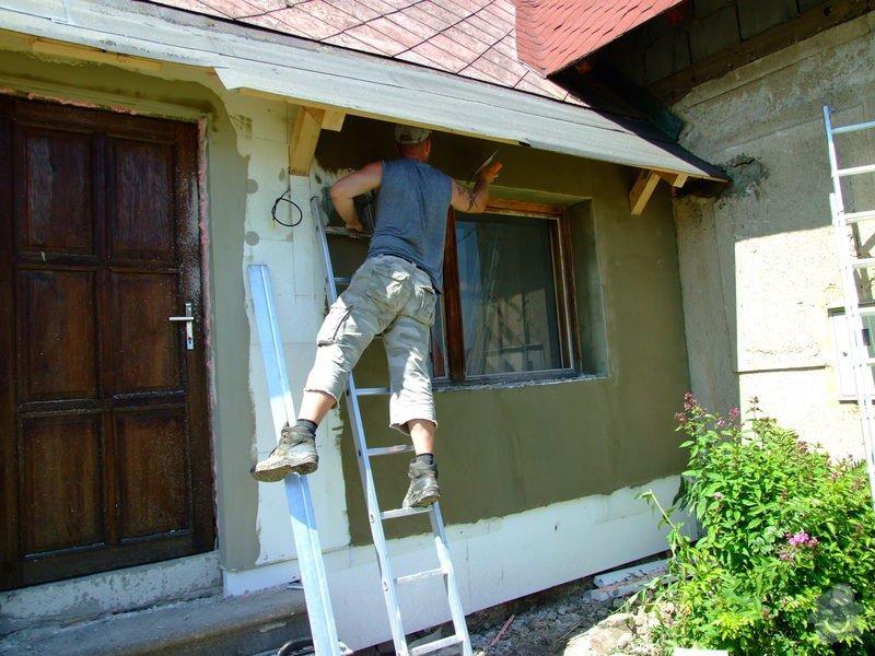 Zateplení fasády a prodloužení střechy: DSCF4793