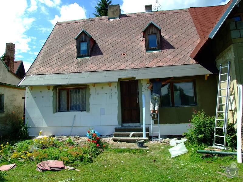 Zateplení fasády a prodloužení střechy: DSCF4794