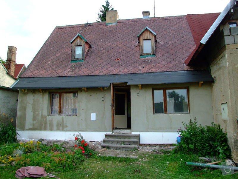 Zateplení fasády a prodloužení střechy: DSCF4795