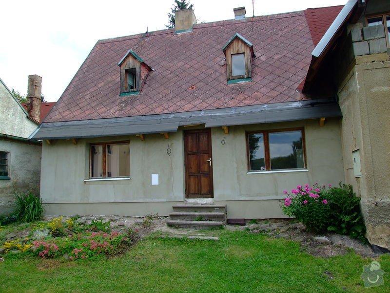 Zateplení fasády a prodloužení střechy: DSCF4796
