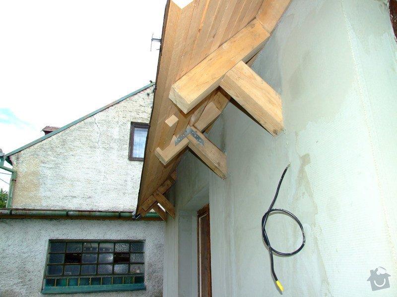 Zateplení fasády a prodloužení střechy: DSCF4797