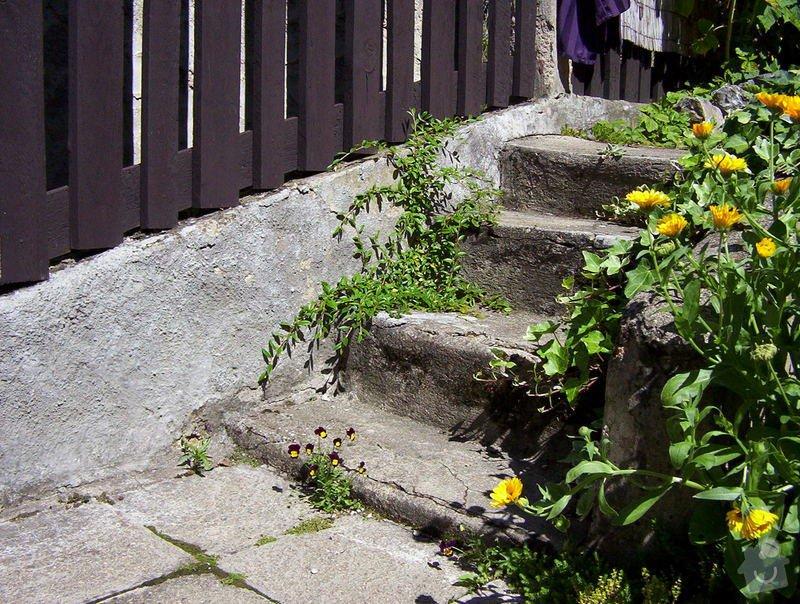 Zednické práce, venkovní dlažba: DOMEK_l_to_2008_012