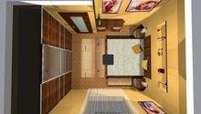 On-line návrh interiéru ložnice