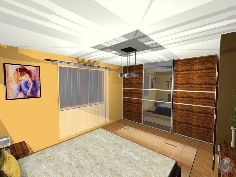 On-line návrh interiéru ložnice: Loznice3
