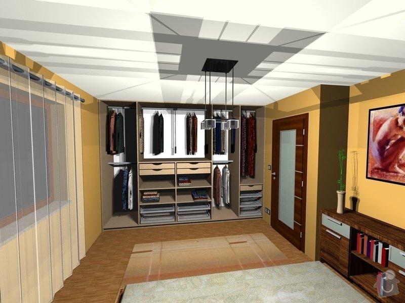 On-line návrh interiéru ložnice: Loznice11