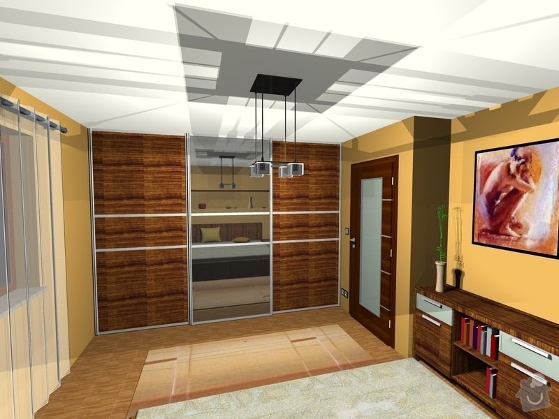 On-line návrh interiéru ložnice: Loznice1