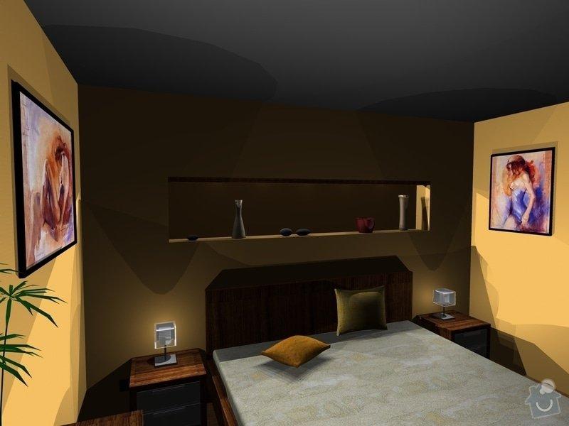 On-line návrh interiéru ložnice: Loznice8