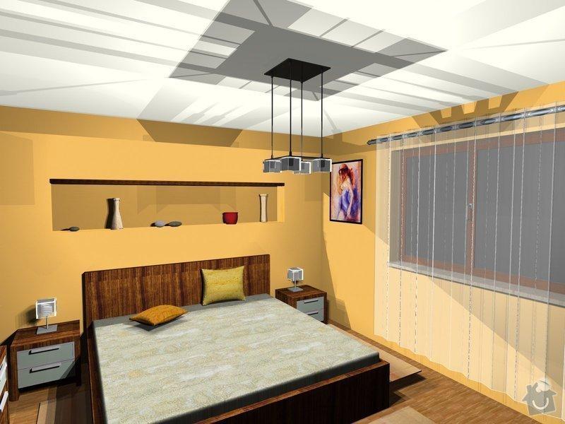 On-line návrh interiéru ložnice: Loznice10