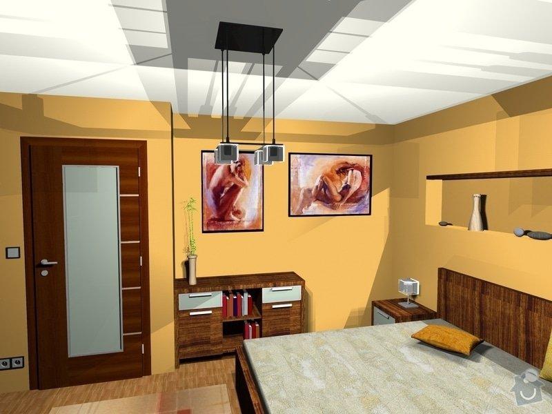 On-line návrh interiéru ložnice: Loznice13