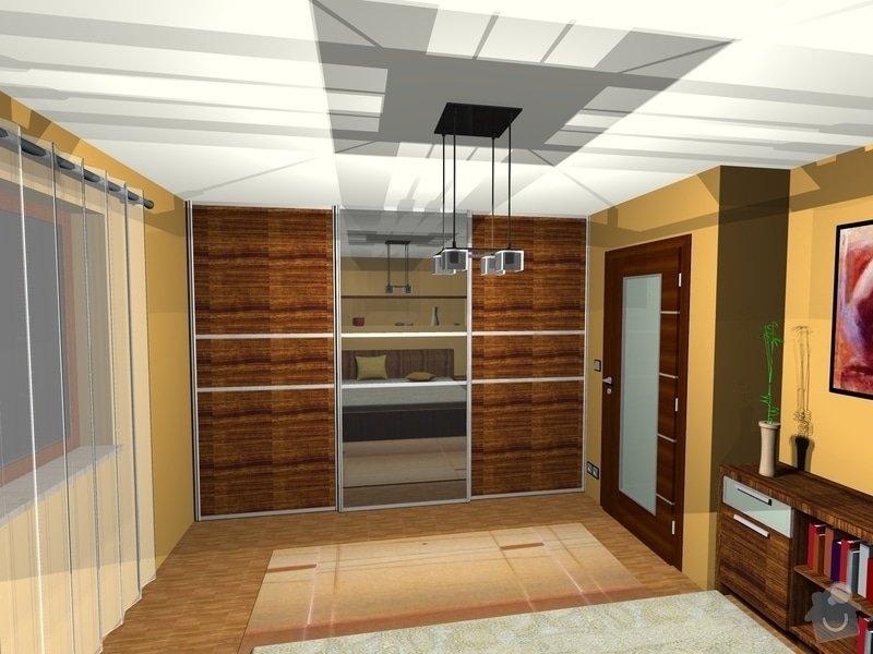 On-line návrh interiéru ložnice: Loznice15