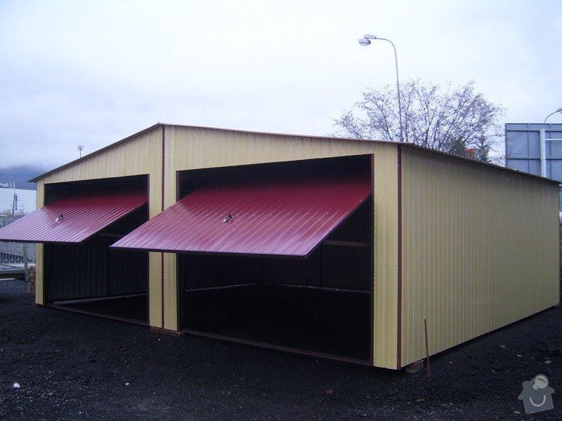 Plechová montovaná garáž: SSA40311