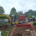 Stavba plotu a podezdivky pokladka zamkove dlazby p7220086