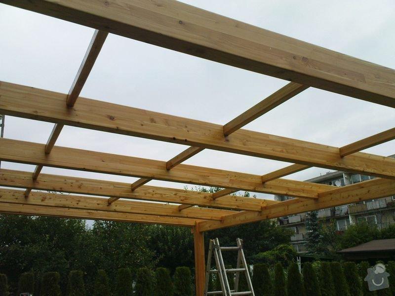 Přístřešek z modřínového dřeva: 003