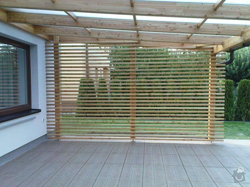Přístřešek z modřínového dřeva: 029