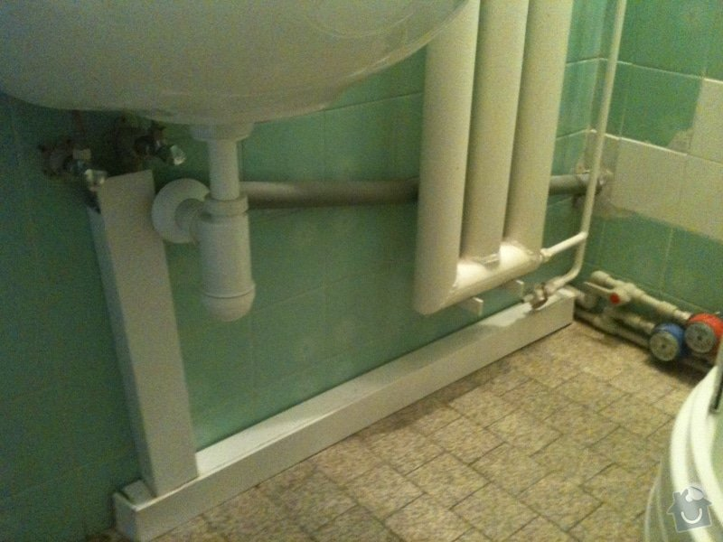 Sprchový kout, přeložení umyvadla: IMG_0031