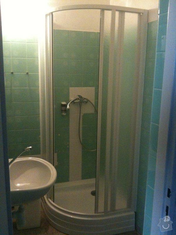 Sprchový kout, přeložení umyvadla: iPad_030