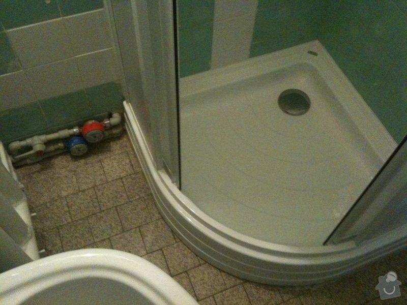 Sprchový kout, přeložení umyvadla: iPad_031