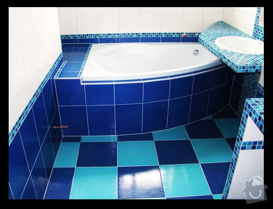 Rekonstrukce  koupelny: 2