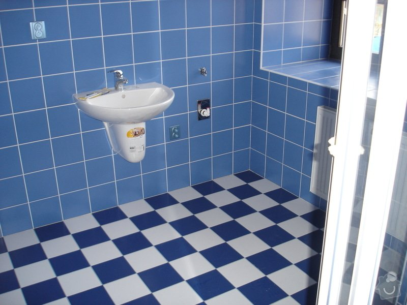 Rekonstrukce  koupelny: DSC03637