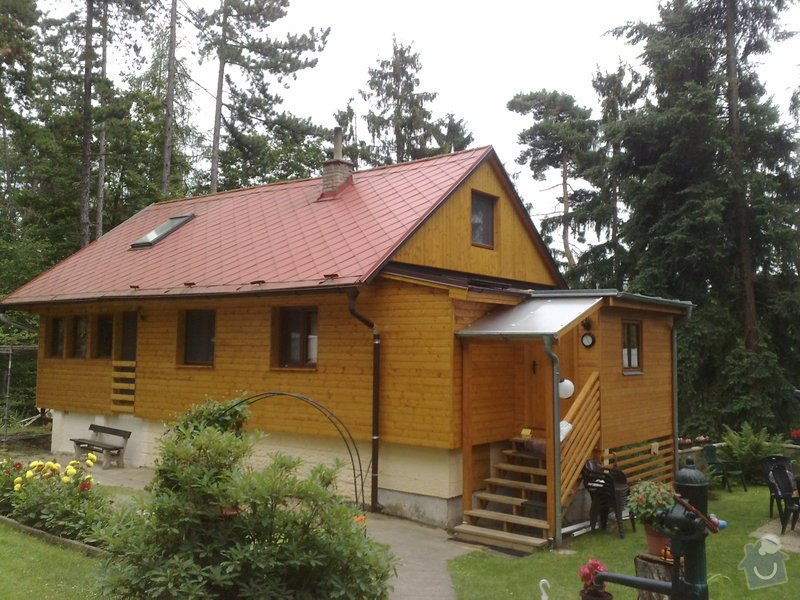 Zateplení a obklad chaty : 200720111016